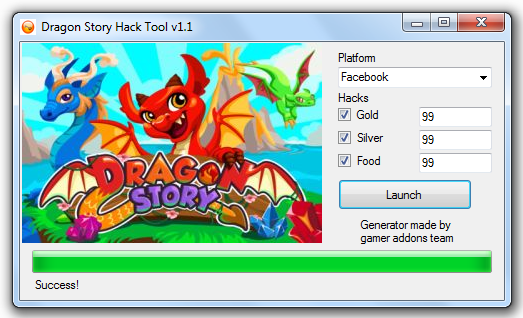 Dragon Story Hack Cheat Tools