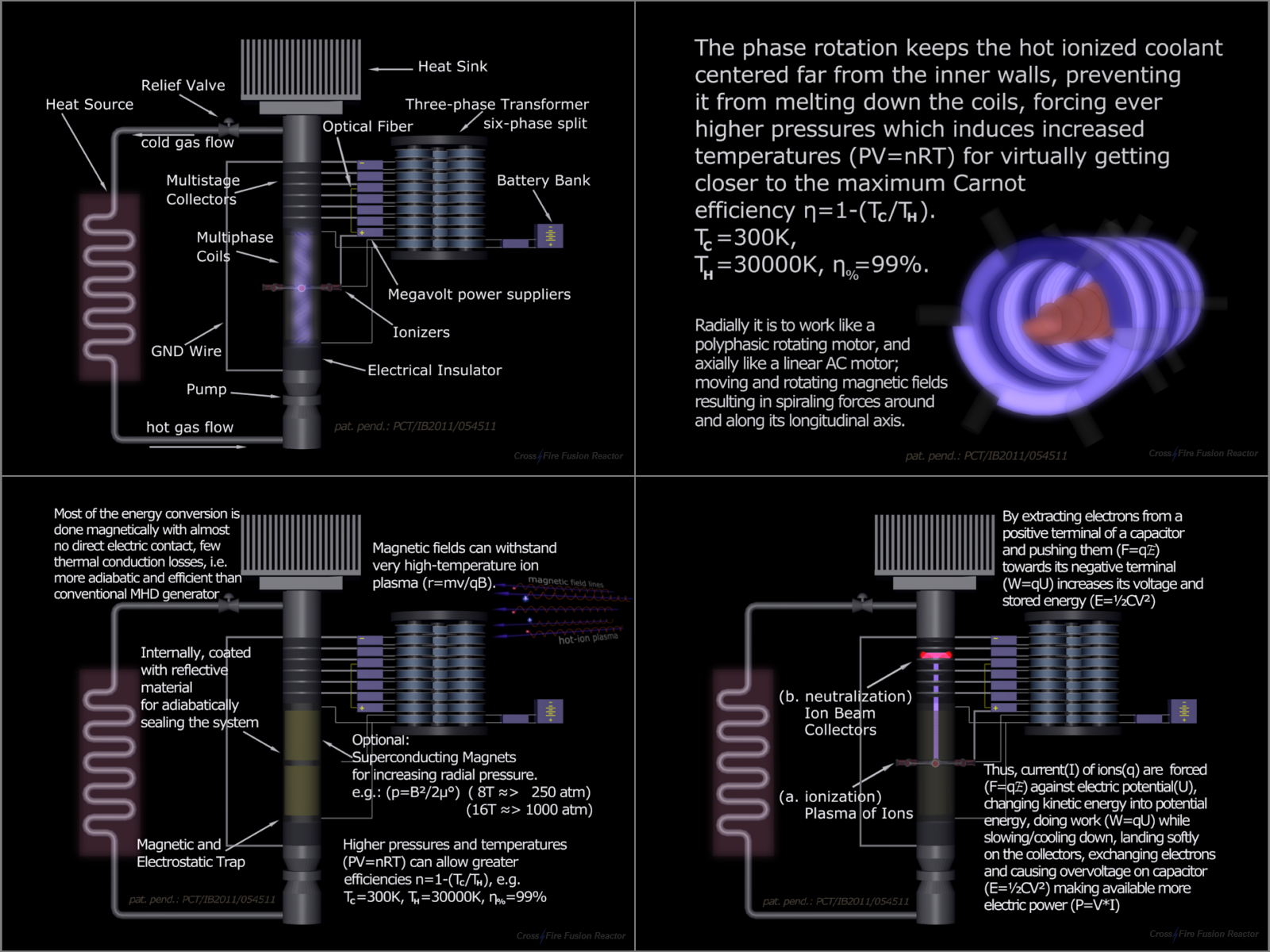 Multiphase Thermoelectric Converter - V2
