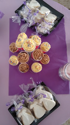 Cupcakes mesa dulce
