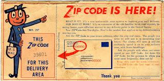 zip code postal code: