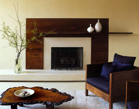 Traditional living room designs ideas 2012 home - Modern fireplace living room design ...