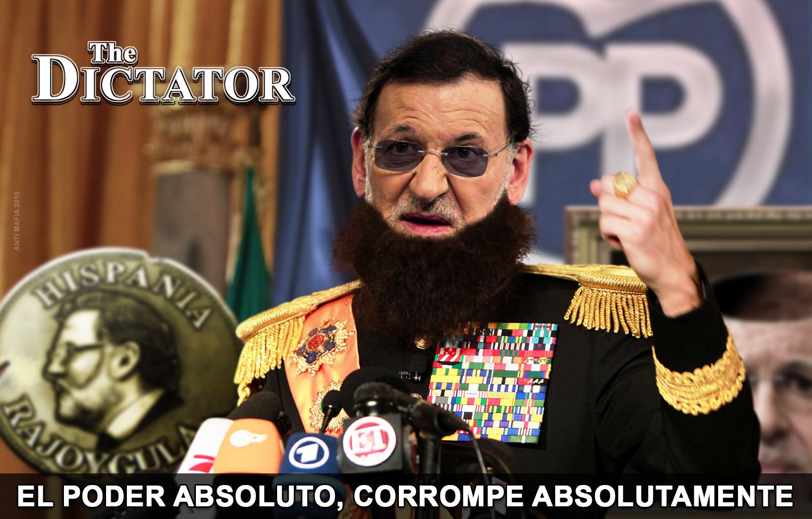 Resultat d'imatges de Rajoy Dictador