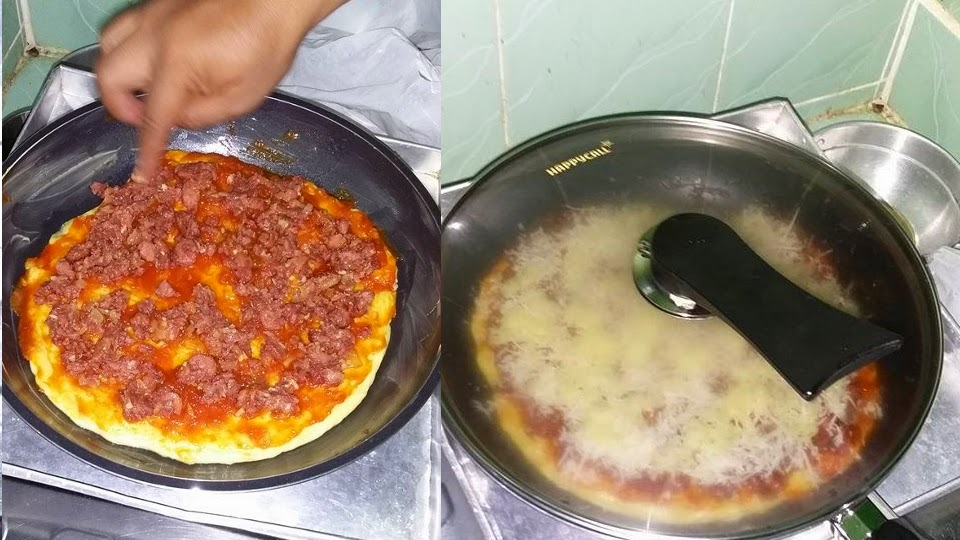 Resep Pizza Hut Sederhana Tanpa Oven Buatan Rumahan