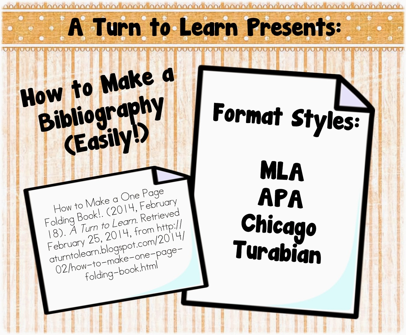 http://aturntolearn.blogspot.com/2014/02/how-to-make-bibliography-easily.html