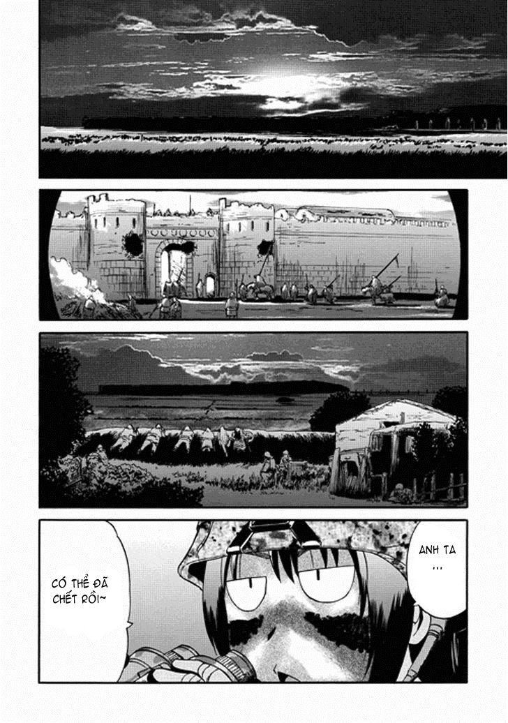 Gate – Jietai Kare no Chi nite, Kaku Tatakeri chap 13 Trang 28 - Mangak.info