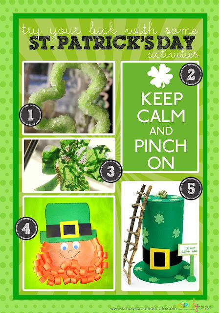 Leprechaun Classroom Visit Ideas ~ St patrick s day fun in the classroom simply sprout