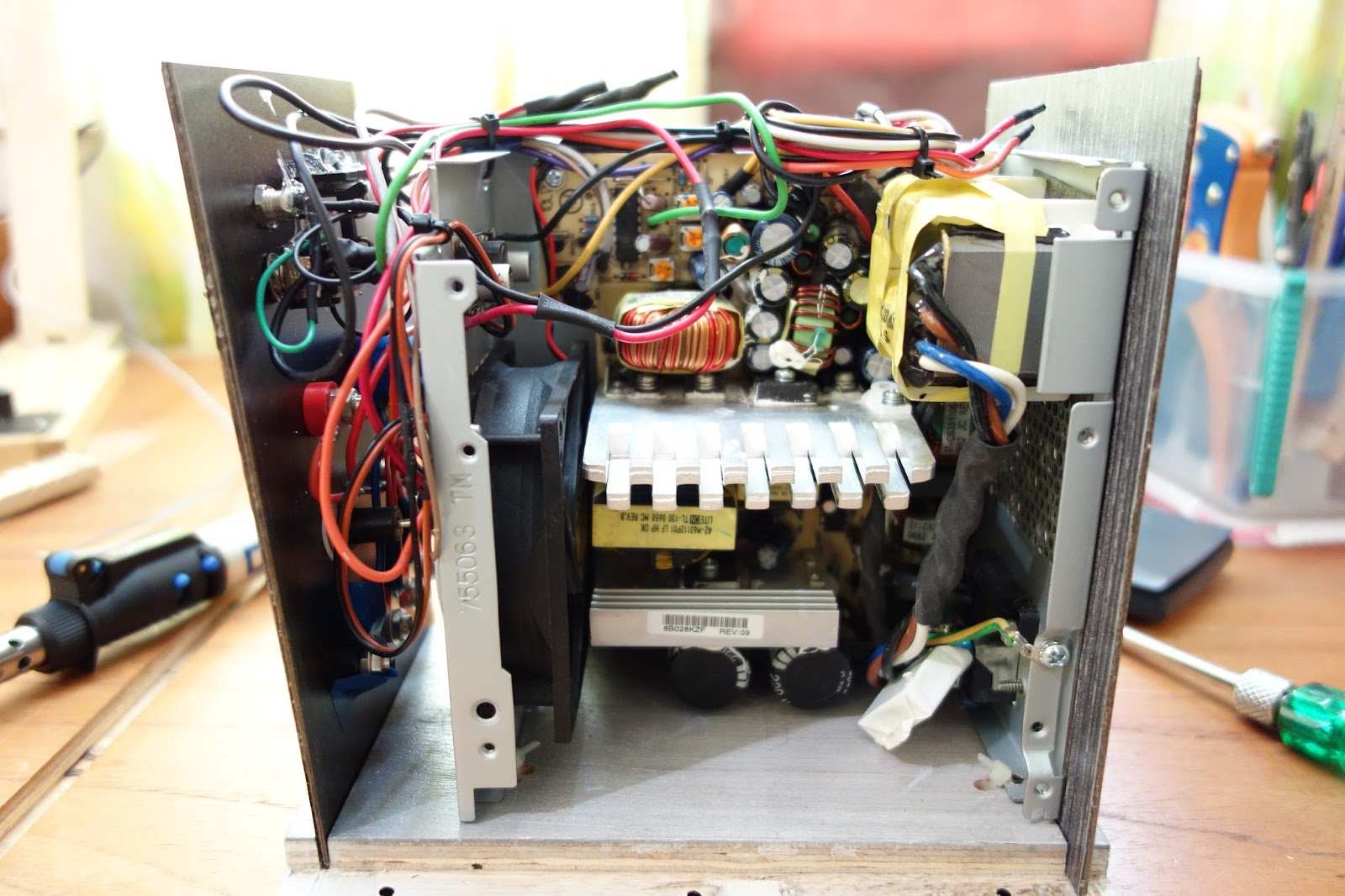 Do The Diy Variable Benchtop Atx Power Supply Supplies Projects And Circuits