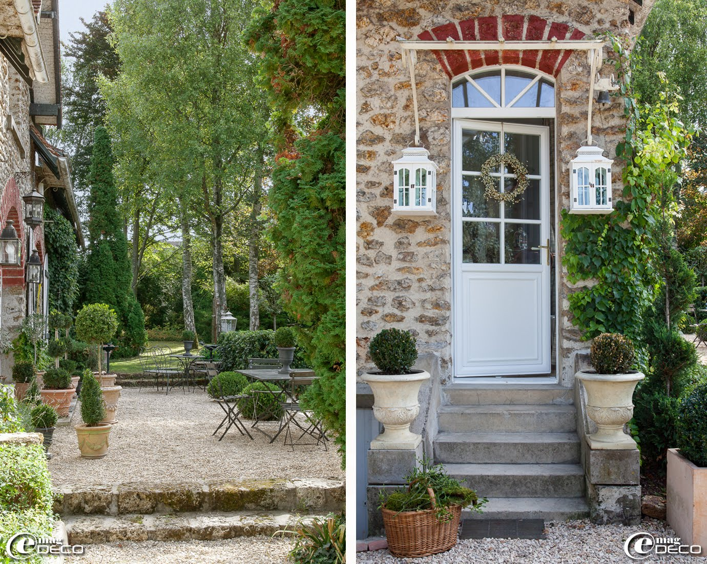 Le clos saint fiacre e magdeco magazine de d coration for Amenager sa maison en d