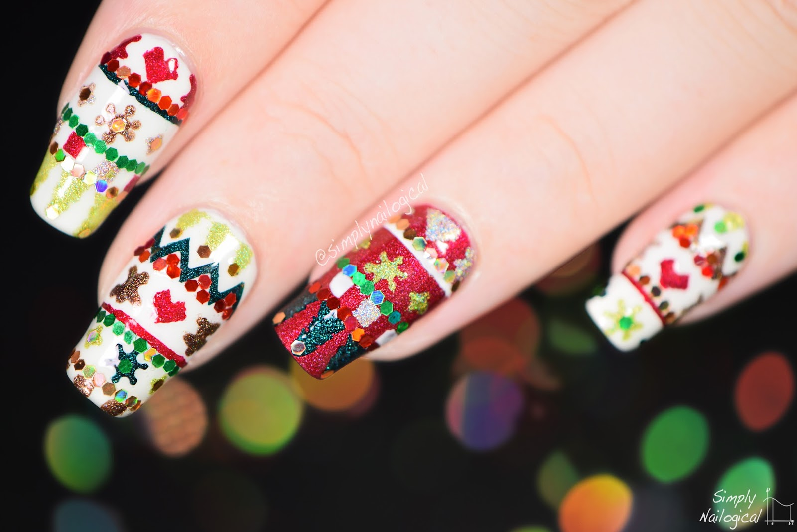 Ugly Sweater Nails - The Original Mane \'n Tail | Personal Care