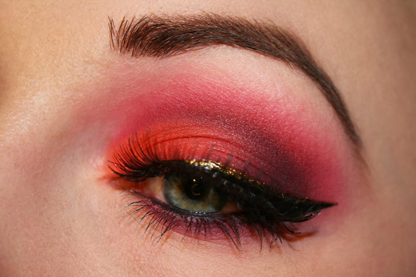 ! Enchanted Makeup: Summer Sunset Makeup Look