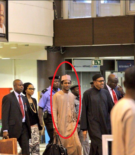 Buhari's Son Yusuf spotted for the first time(Photos)