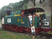 Victorias Milling train outside Subic museum