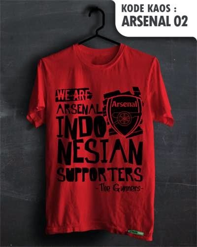 kaos distro bola arsenal