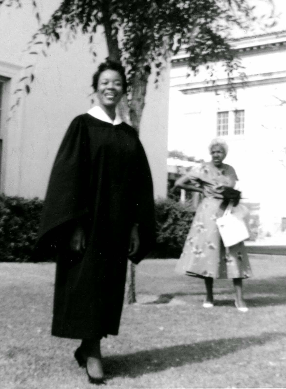 Alta Cooke, College Graduate