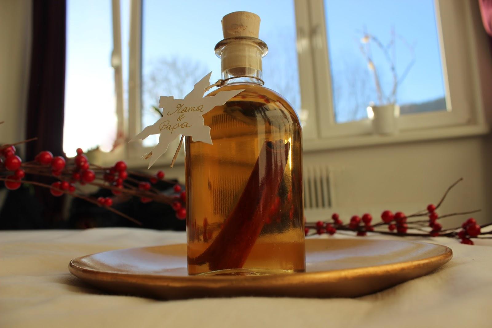 eat - travel - love: DIY: Weihnachtlicher Apfel-Zimt-Likör