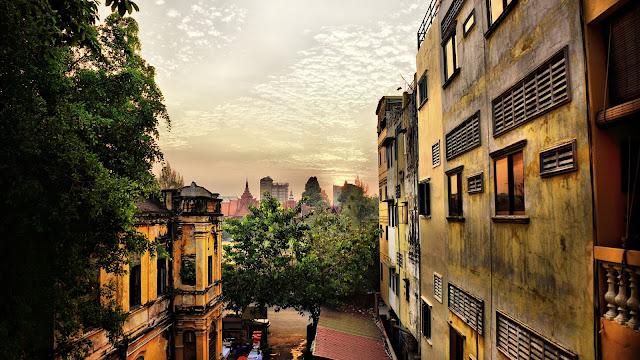 Coucher de soleil à Phnom Penh