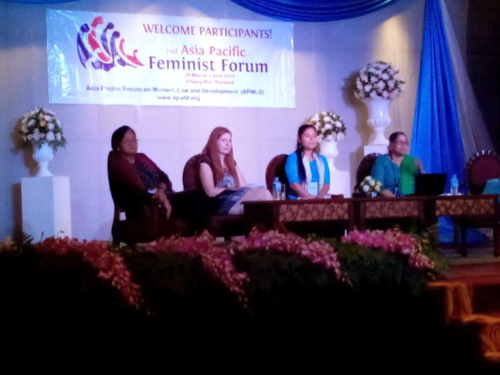 Asia Pacific Feminist Forum; Reframing Feminist Vision