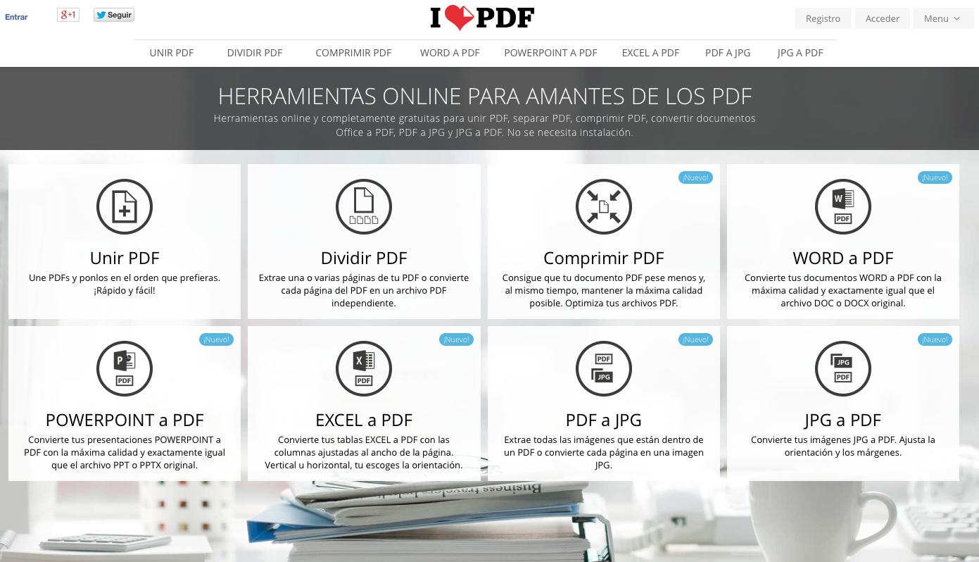 i love pdf separar