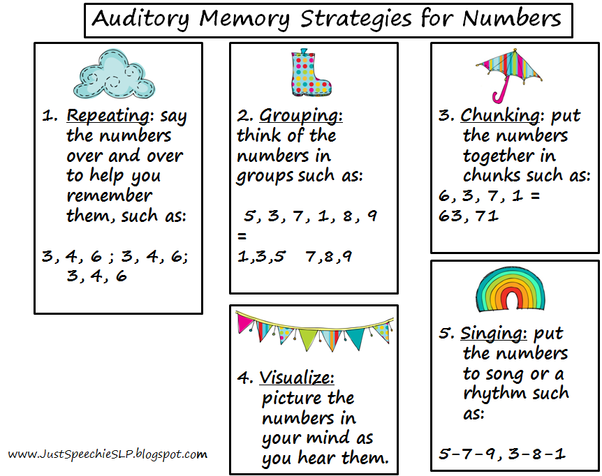 Worksheet Auditory Memory Worksheets just speechie slp springtime auditory working memory complete packet heres a peek at some of the games and 200 cards