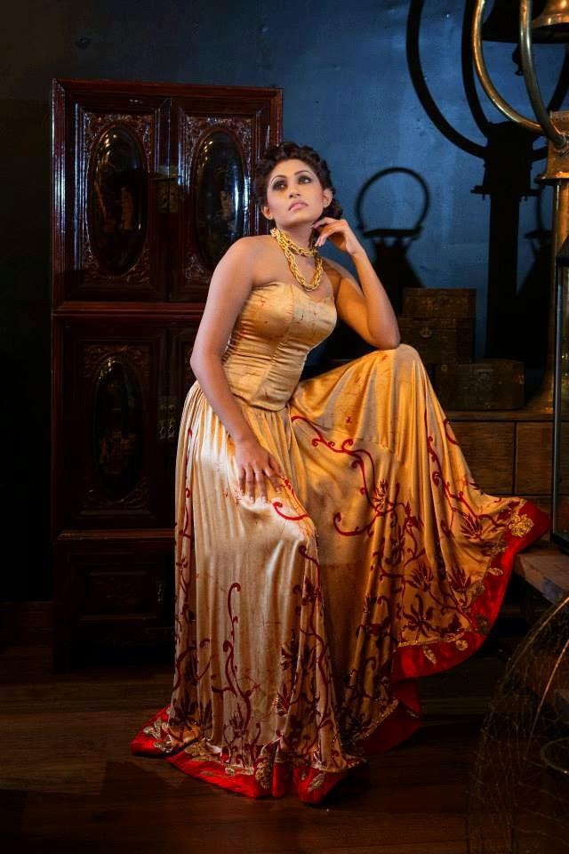 Aruni Rajapaksha sl model