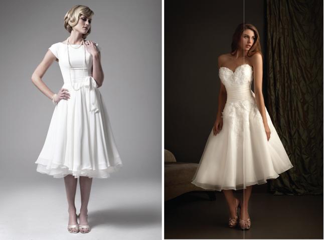 50s Tea Length Wedding Dress 22 Nice Image Credits and Sources