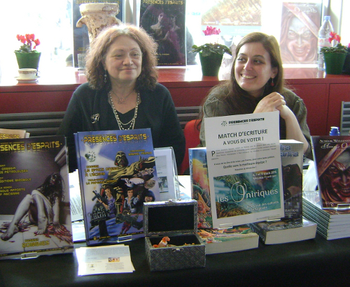 Marthe Machorowski et Mia du Club Présences d'Esprits
