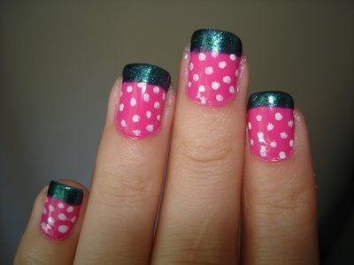 fun design of nail art