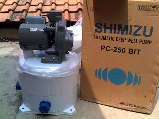 Pompa Air jet pump Shimizu PC-250-BIT ~ cara memperbaiki Pompa Air