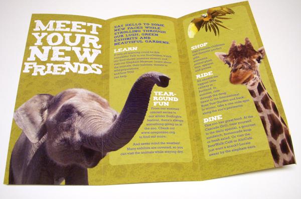 zoo brochure template - brochure zafira pics 2013