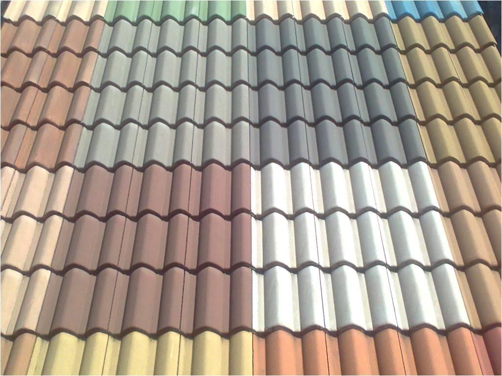 Macete 01: As telhas de concreto com cores brancas proporcionam mais  #927039 1026x770