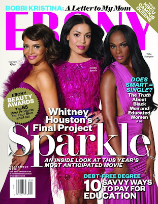 Sparkle Cast on Cover of Ebony Magazine