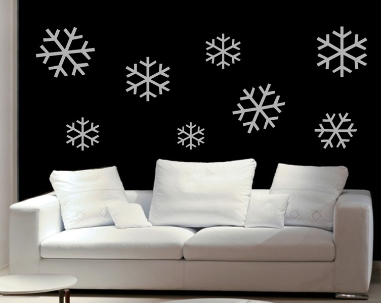 Muebles y decoraci n de interiores decoraci n de las for Decoracion de paredes de sala