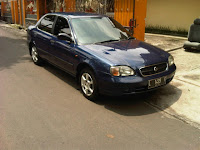 Mobil Dijual Suzuki Baleno 2001