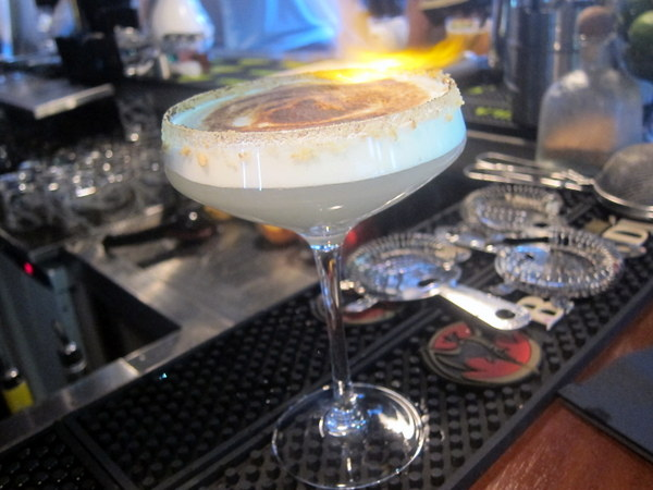 Key Lime Meringue Pie cocktail at the Exchequer Gastropub Dublin
