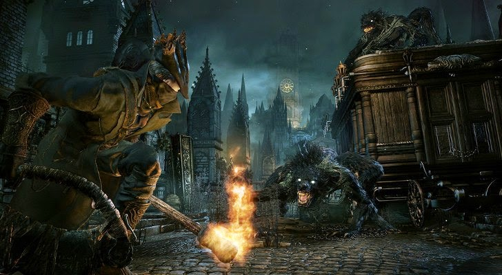 Bloodborne against werewolves
