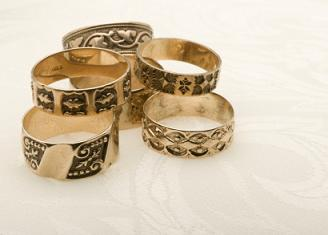 medieval wedding bands - Medieval Wedding Rings