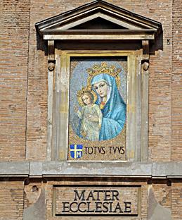 Sainte Vierge - Mater Ecclesiae - Prêtre - Unité des chrétiens - DPTN