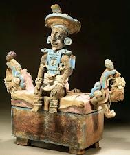 Un trono cargado de símbolos
