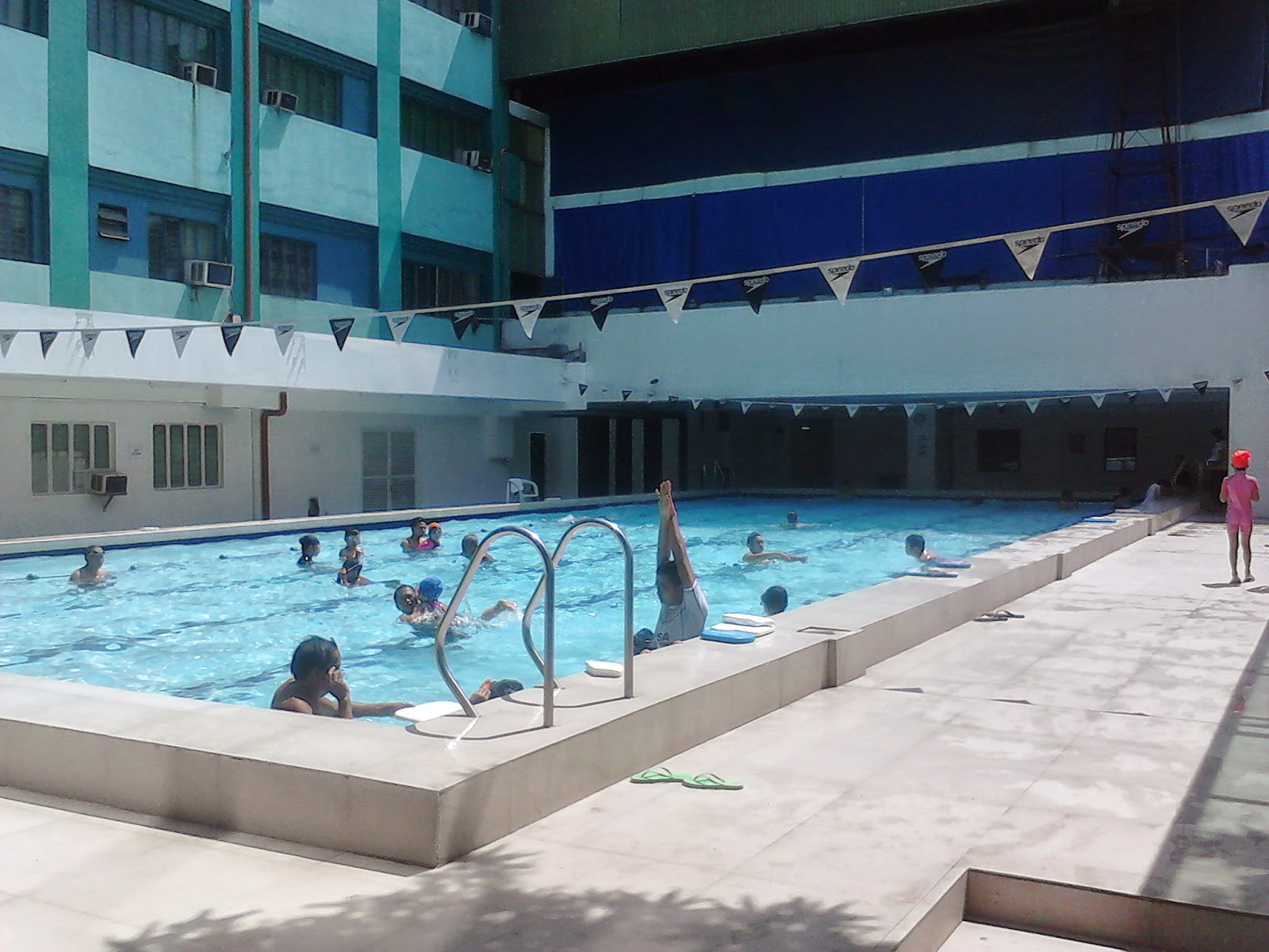 The new ymca manila swimming pool indie escape - Swimming pool area ...