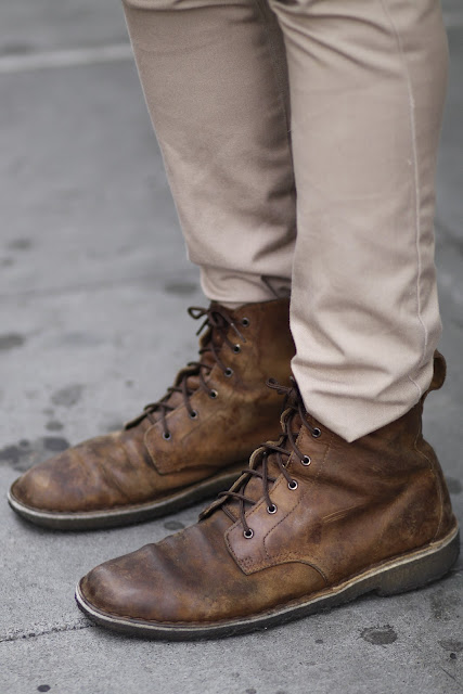 lace up boots skinny khakis