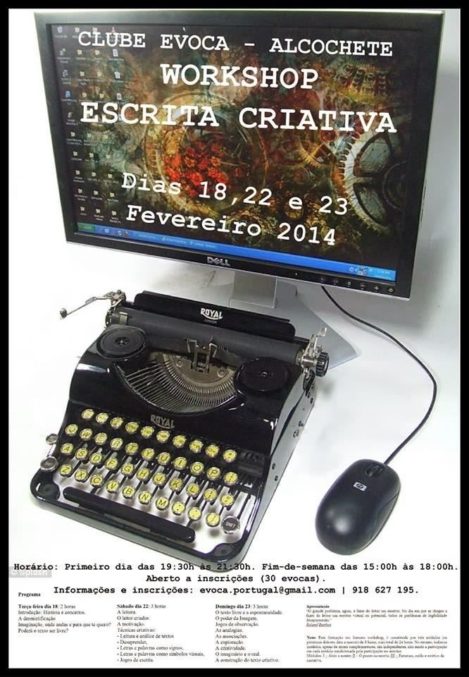 Workshop ministrado pelo professor bibliotecário António Cardoso