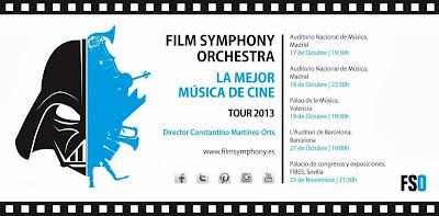 Film Symphony Orchestra 2013 concierto banda sonora cine