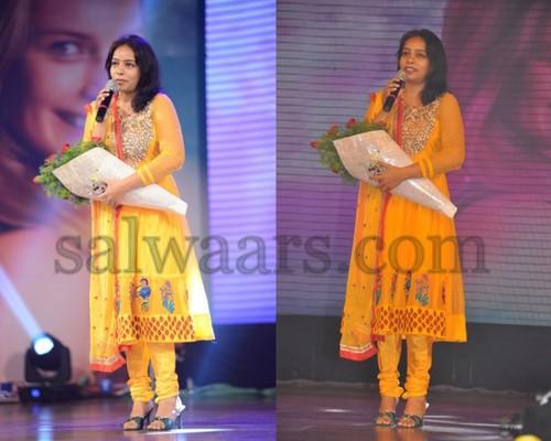 MM Srilekha Mustard Salwar