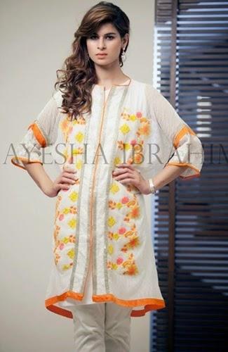 Ayesha Ibrahim Pret Collection 2014