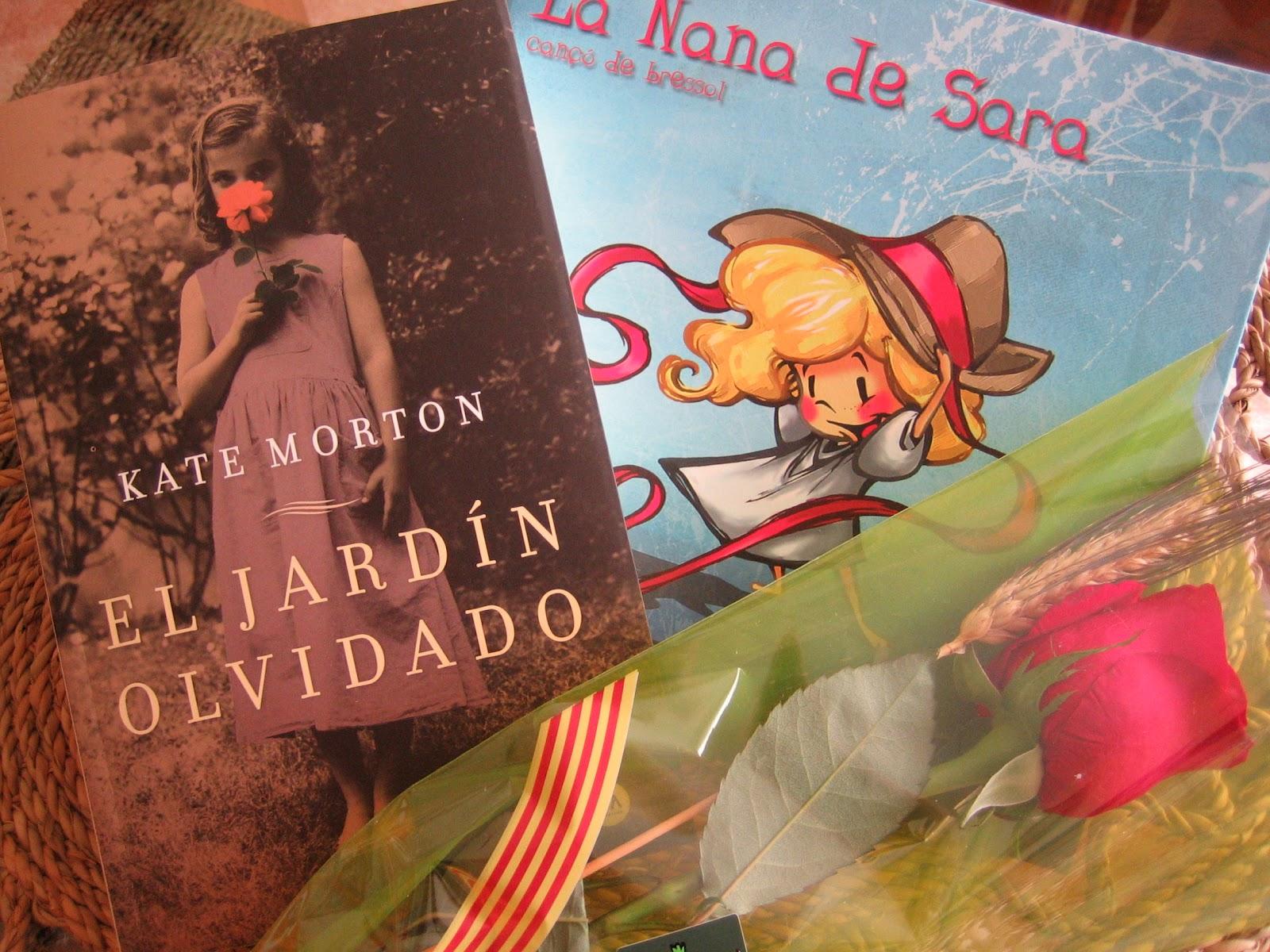 Els drapets de la sandra sant jordi for Libro el jardin olvidado