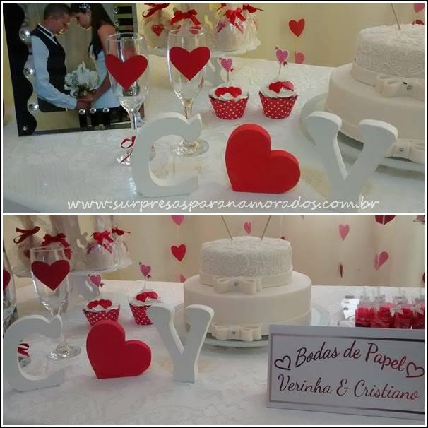 festa de um ano de casada