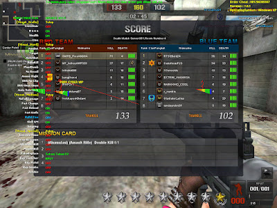 Cheat Point Blank 18 Agustus 2015 Fitur Vip Auto HS, Aim, Auto Kick, RPG Killer, Wp Smoke
