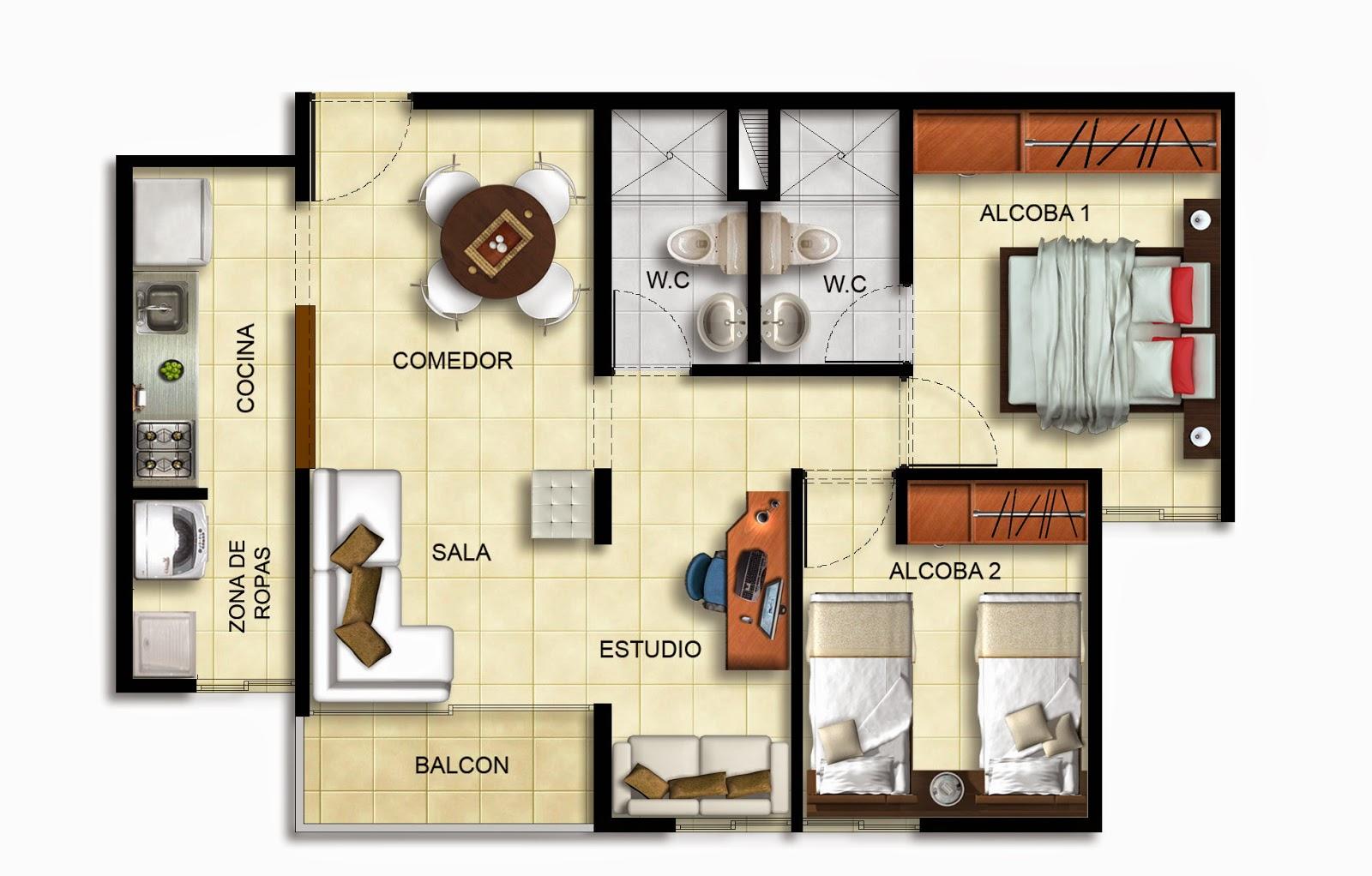 Ilustracion y representaci n de proyectos planta for Tipos de planos arquitectonicos pdf
