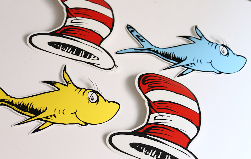 Make it cozee more dr suess fun for Cat in the hat fish
