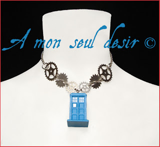 collier tardis docteur who doctor who tardis necklace